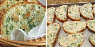Křupavý česnekový chléb se sýrem připravený během 30 minut!