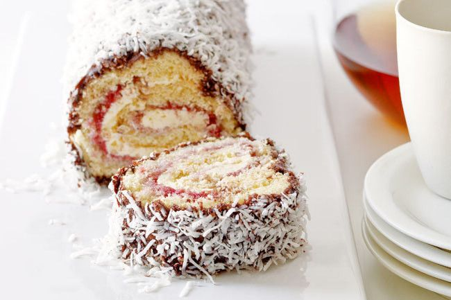 Lamington roll - distinctly Australian Australia Day recipes gallery 4 of 8 - Homelife.com.au