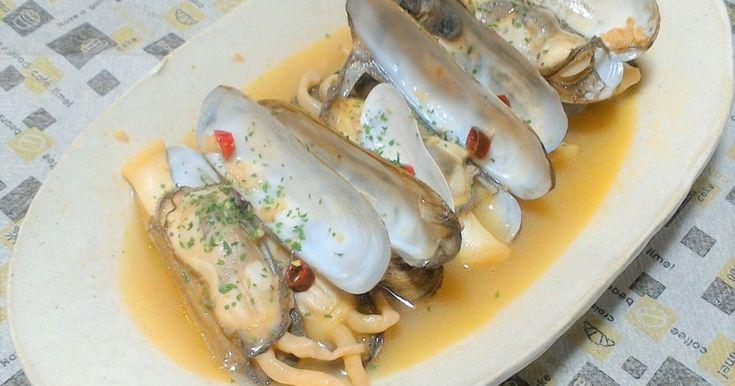 マテ貝やあげまき貝で!ペペロンチーノ風 by sa10ri工房 [クックパッド] 簡単おいしいみんなのレシピが263万品