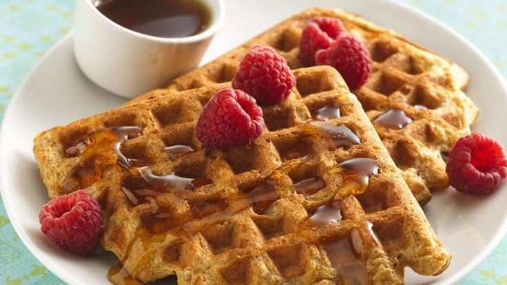 ... to the batter and create delicious fiber-rich whole-grain waffles