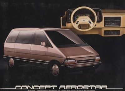 1984 Ford Aerostar - Concepts