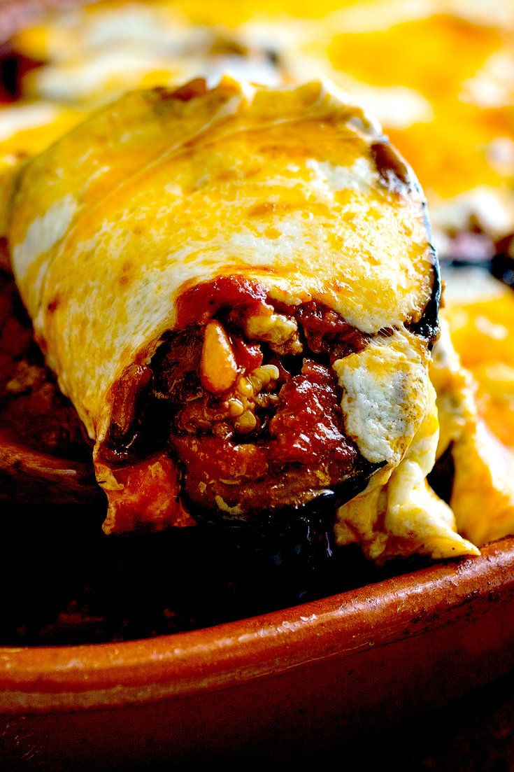 With its layers of golden eggplant, cinnamon-scented lamb, and sweet tomato sauce topped with melted cheese, this traditional Lebanese dish is made for celebratory meals and gatherings. Even better, it's just as good served warm or room temperature as it is hot from the oven It also reheats well, meaning that you can bake it the day before, and reheat it before serving if you like. (Photo: Andrew Scrivani for NYT)