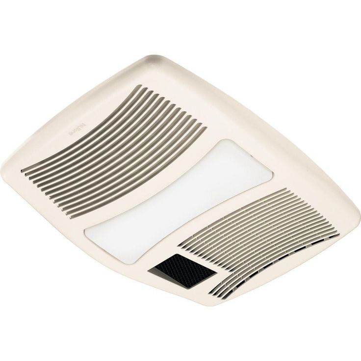 Nutone Qt Series Very Quiet 110 Cfm Ceiling Bathroom Exhaust Fan With Incandescent Light And