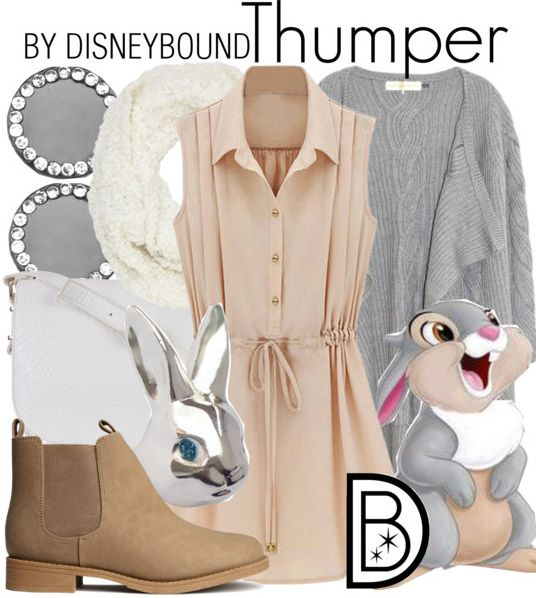 Thumper inspired outfit~ really cute! I love those colors together!