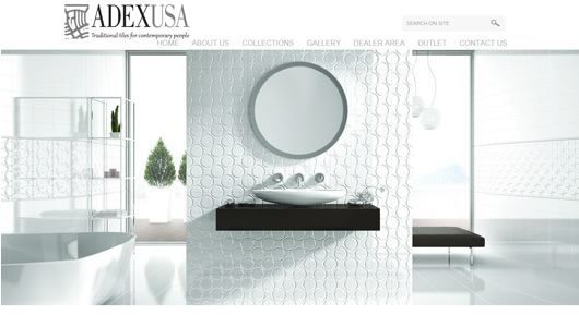 Adex USA Website Design :- Adex USA Website redesign feature the classic and premium product that they produce.