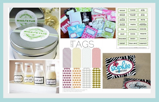TONS of free printables!Creative Exchange, Free Online, Crafts Projects, Gift Tags, Vintage Kids, Printables Tags, Printables Labels, Free Printables, Online Printables