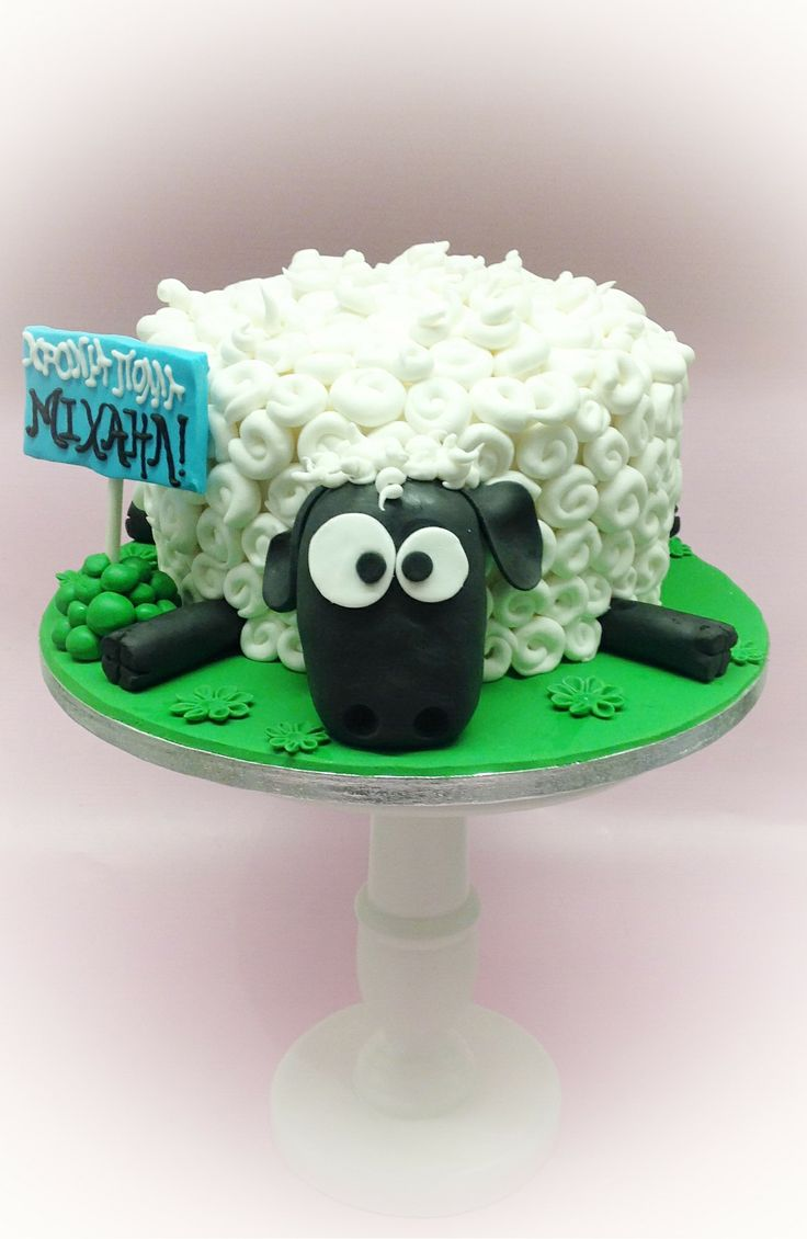 Sheep funny cake