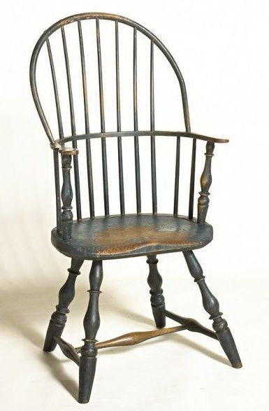 Awesome SACK BACK WINDSOR ARM CHAIR.