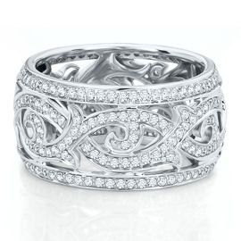 Diamond Eternity Ring from the Regal Collection, Artiste by Scott Kay - Anniversary Rings - Rings - Jewelry - Helzberg Diamonds
