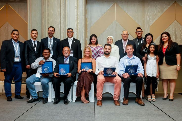 We are so very proud to be recognized by our peer at the 2014 Multimodal Freight Network Conference held in Dubai. That's our CEO Kirsten Flynn sitting in the middle. Thank you MFN