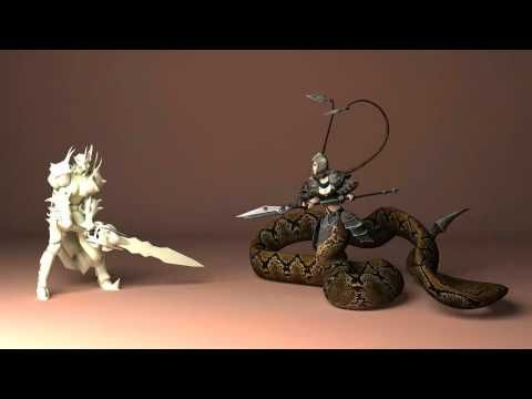 Naga game animation. - YouTube