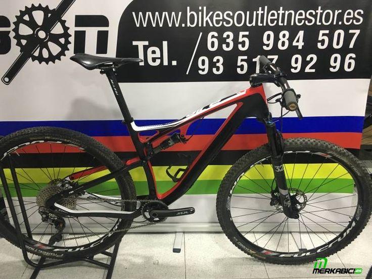 #massiairecarbonteamperformance2017 Bicicleta de montaña carbono 29 2017 impecable ... en toda España