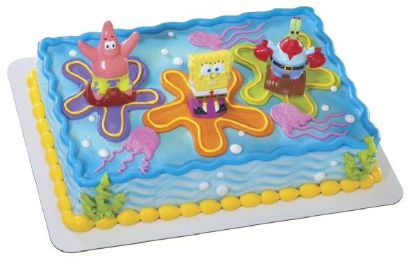 spongebob birthday cake - Google Search