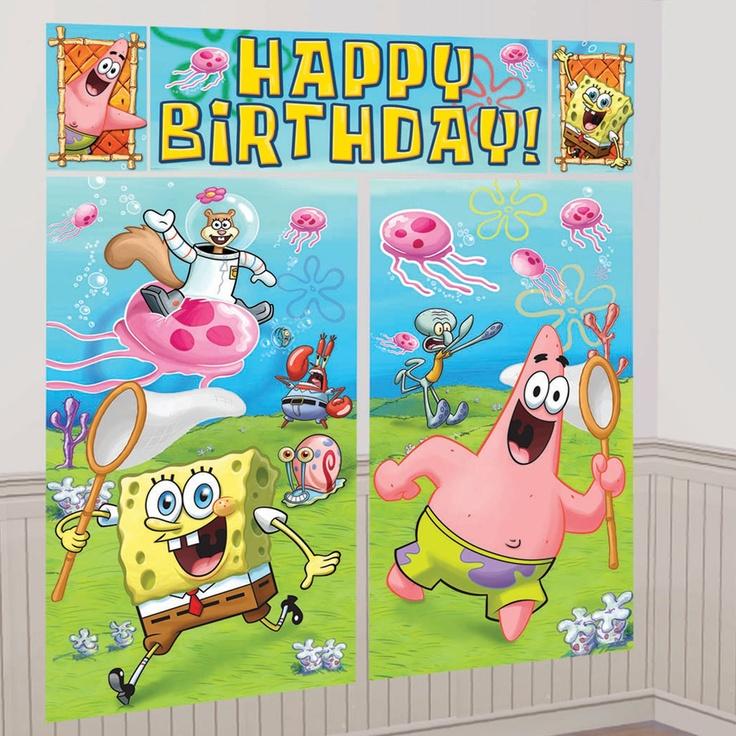 SpongeBob Scene Setter Decoration Set, 85136