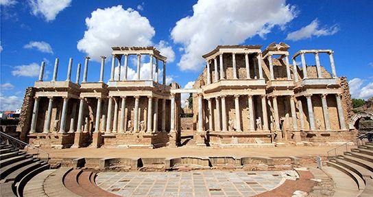 teatro romano merida - Pesquisa do Google