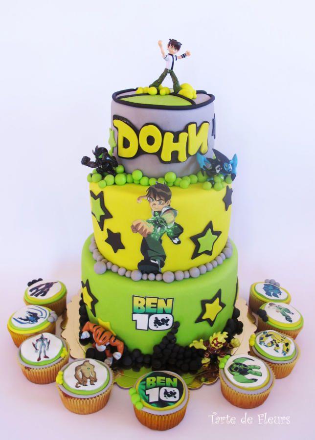 Ben 10 cake - Cake by TartedeFleurs