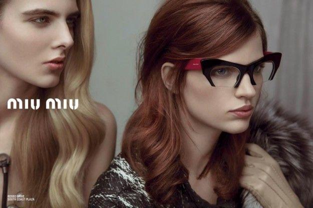 Immancabili Accessori di Moda: Miu Miu, Occhiali da vista e da Sole #miumiu #glasses #occhiali