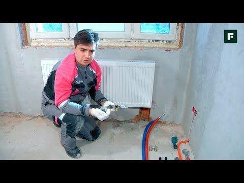 Способы подключения радиаторов из стены