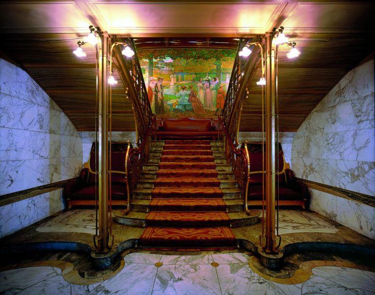 378 best images about art nouveau style on pinterest for Art nouveau interieur