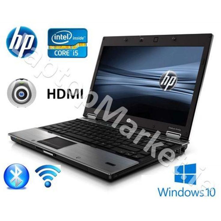 HP Elite 8440p 14.0 Wide Core i5 2.9 Webcam HDMI 4GB 320GB Win10 DVD