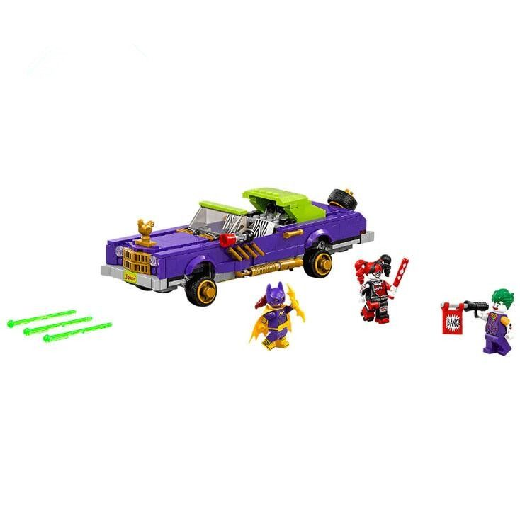 21.99$  Buy now - http://ali7ze.shopchina.info/go.php?t=32803695509 - 433Pcs Lepin 07046 Genuine Batman Movie Series The Joker`s Lowrider Set Building Blocks Bricks Educational Toys 70906  #buyonlinewebsite