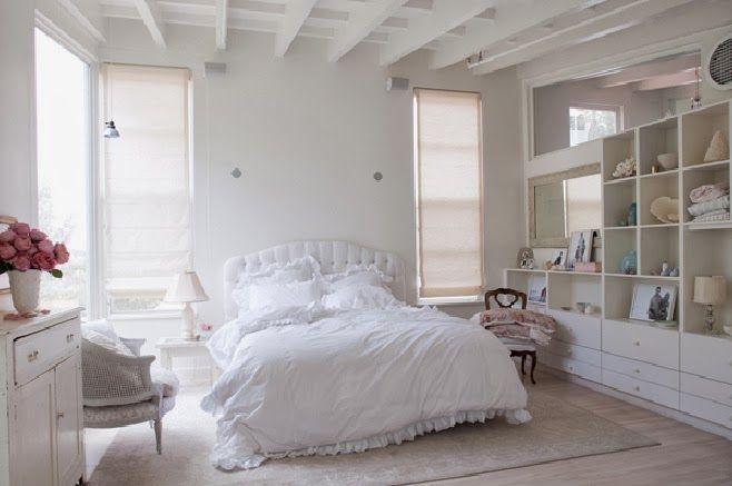 Des chambres blanches qui ne font pas tâches