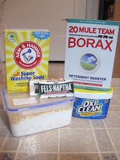 laundry detergent for a year for only $15. Homemade Laundry Detergent/Great for Sensitive Skin