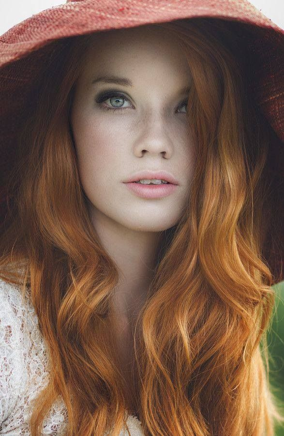 Redhead makeup- a must try