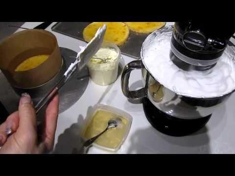 Суфле для торта Птичье молоко