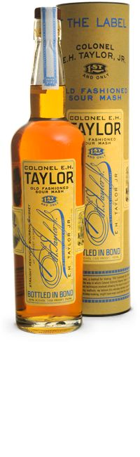 (B+) Colonel E.H. Taylor Old Fashioned Sour Mash (limited release): Fresh, sweet and tart aromas and flavors dominate without completely choking out the oak. Unique as bourbons go, and quite good.