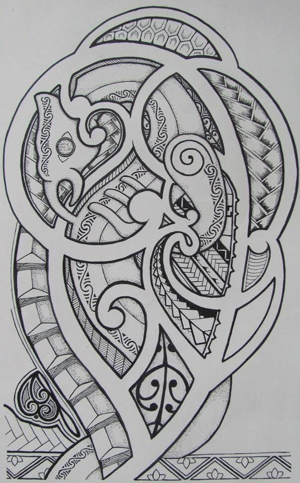 Mana'ia Arm Tattoo by HNBeckham