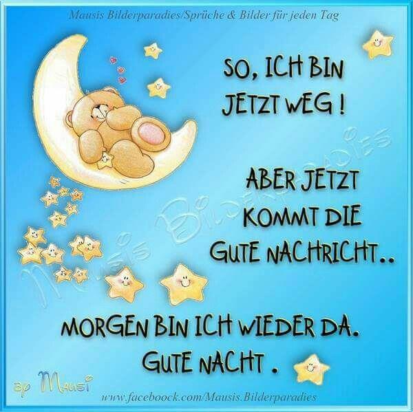 Nacht nachrichten gute Gute Nacht