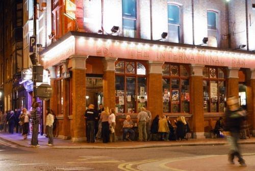 International Bar, Dublin 23 Wicklow St  Dublin 2. We had so much fun at this comedy club and bar.