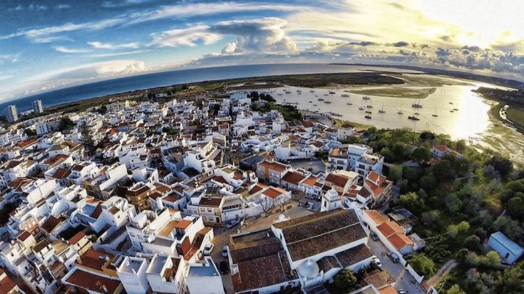 Alvor in Algarve, Portugal, is a fishing village in Southern Portugal that has developed into one of the major holiday destinations.