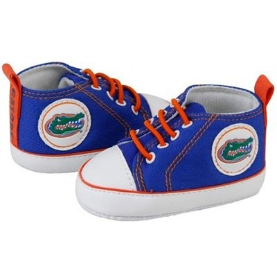 Baby Gator shoes! Perfect for a tiny Gator fan.