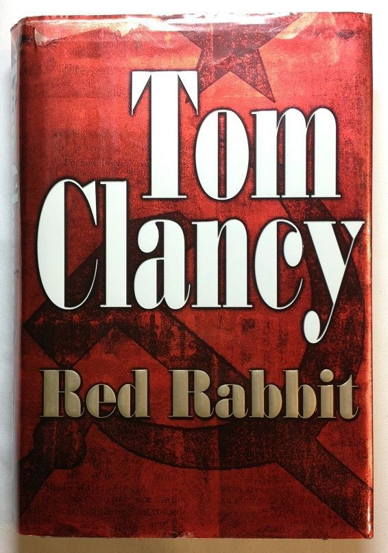 Red Rabbit by Tom Clancy (2002, Hardcover with Dust Jacket) First Edition