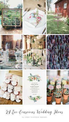 24 Eco-Conscious Wedding Ideas