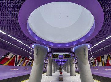 Warszawa opens second metro line