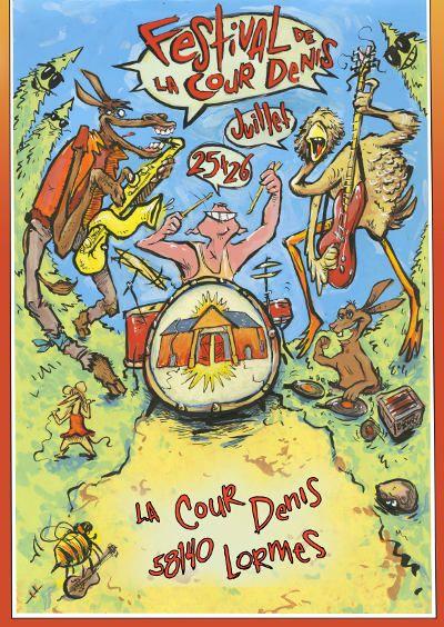 Festival de la Cour Denis, Lormes (58140), Bourgogne
