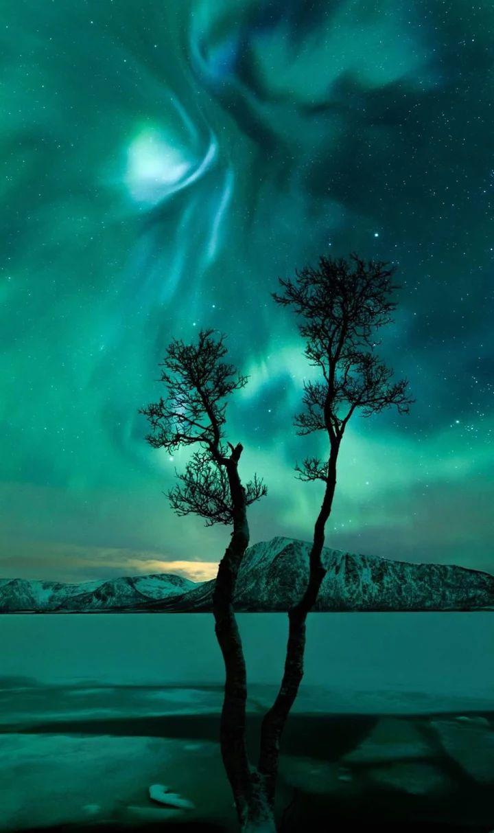 Moon, Sun, Skies and Milkyway