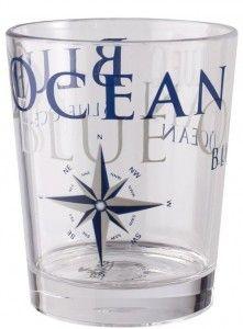 Szklanki Blue Ocean San - motyw żeglarski