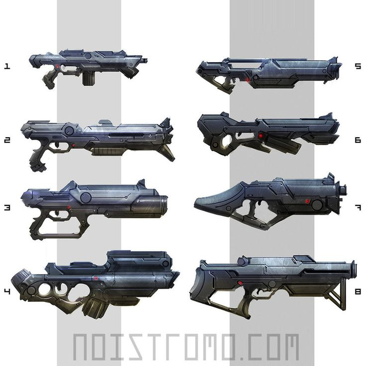 Sci-Fi weapons, sketches. by noistromo on deviantART