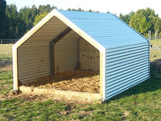 Small Farm Shelters : Best ideas about horse shelter on pinterest