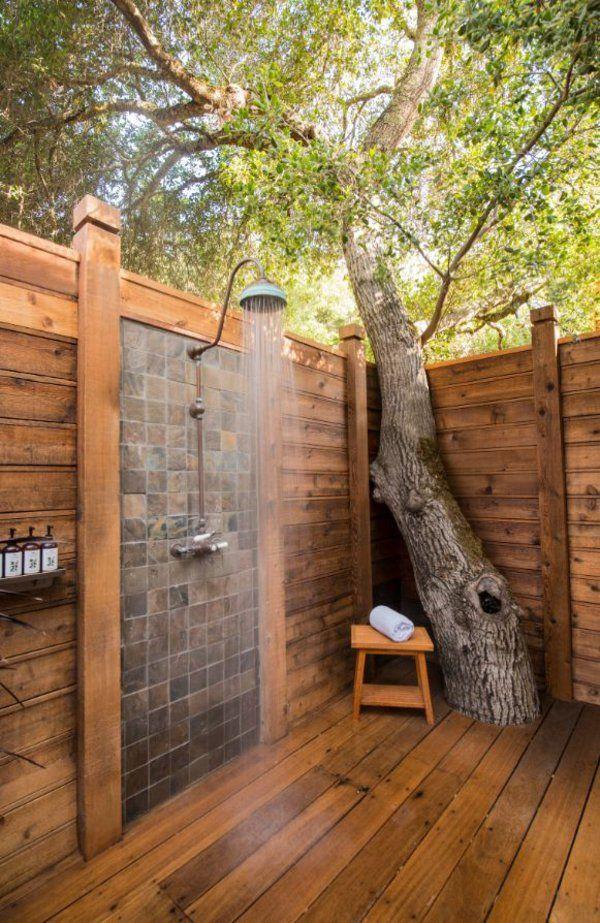 43 besten relax room Bilder auf Pinterest Ideen, Bad Badewanne - dusche im garten erfrischung sommer