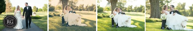 Montgomery Country Club MD wedding portraits
