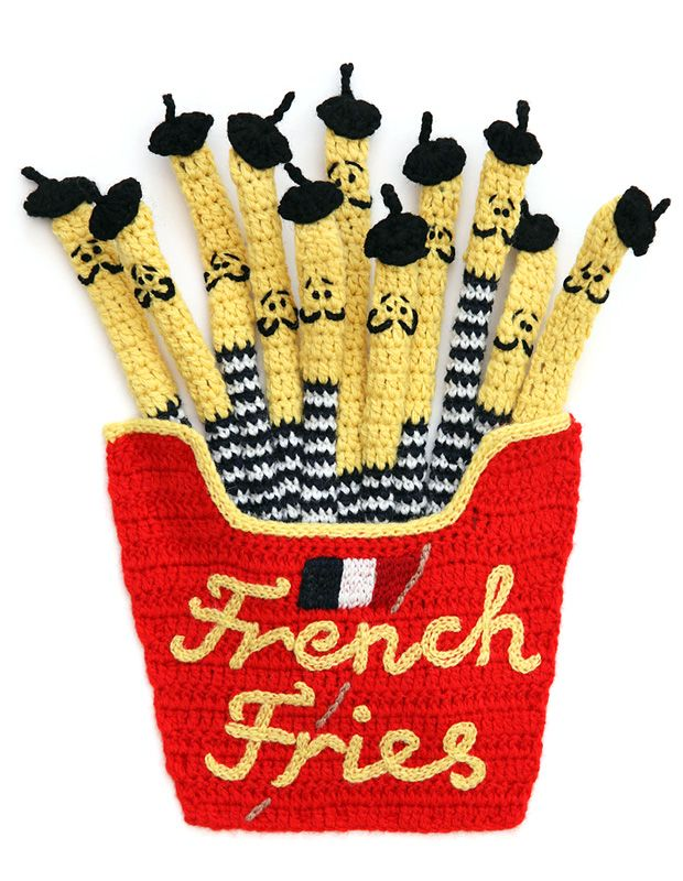 Kate Jenkins - French fries(french knitted)♥
