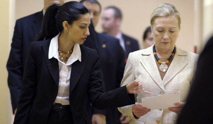 Hillary Rodham Clinton personally signed the controversial deal in 2012 that let her top aide Huma Abedin simultaneously work for the State Department and a private New York firm with deep ties to the Clinton family, according to records made public Thursday. (Associated Press)