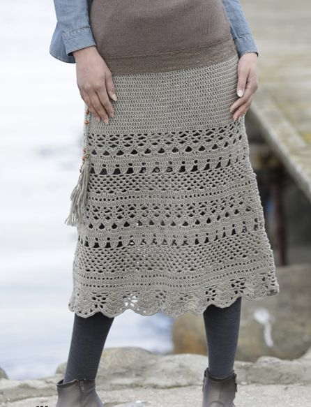 3 Beautiful crochet skirt patterns