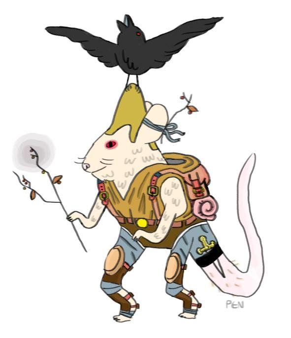 Pendleton Ward Rat Wizard Mercenary