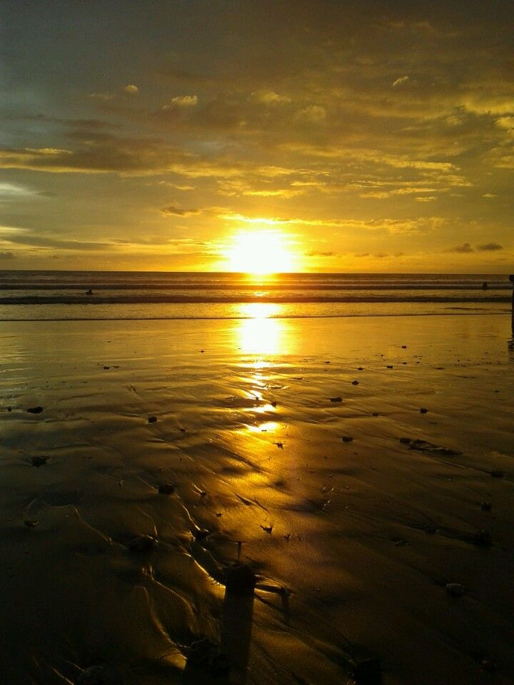 This afternoon in Kuta beach...sunset